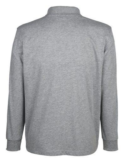 Roger Kent Poloshirt mit Druckmotiv im Vorderteil