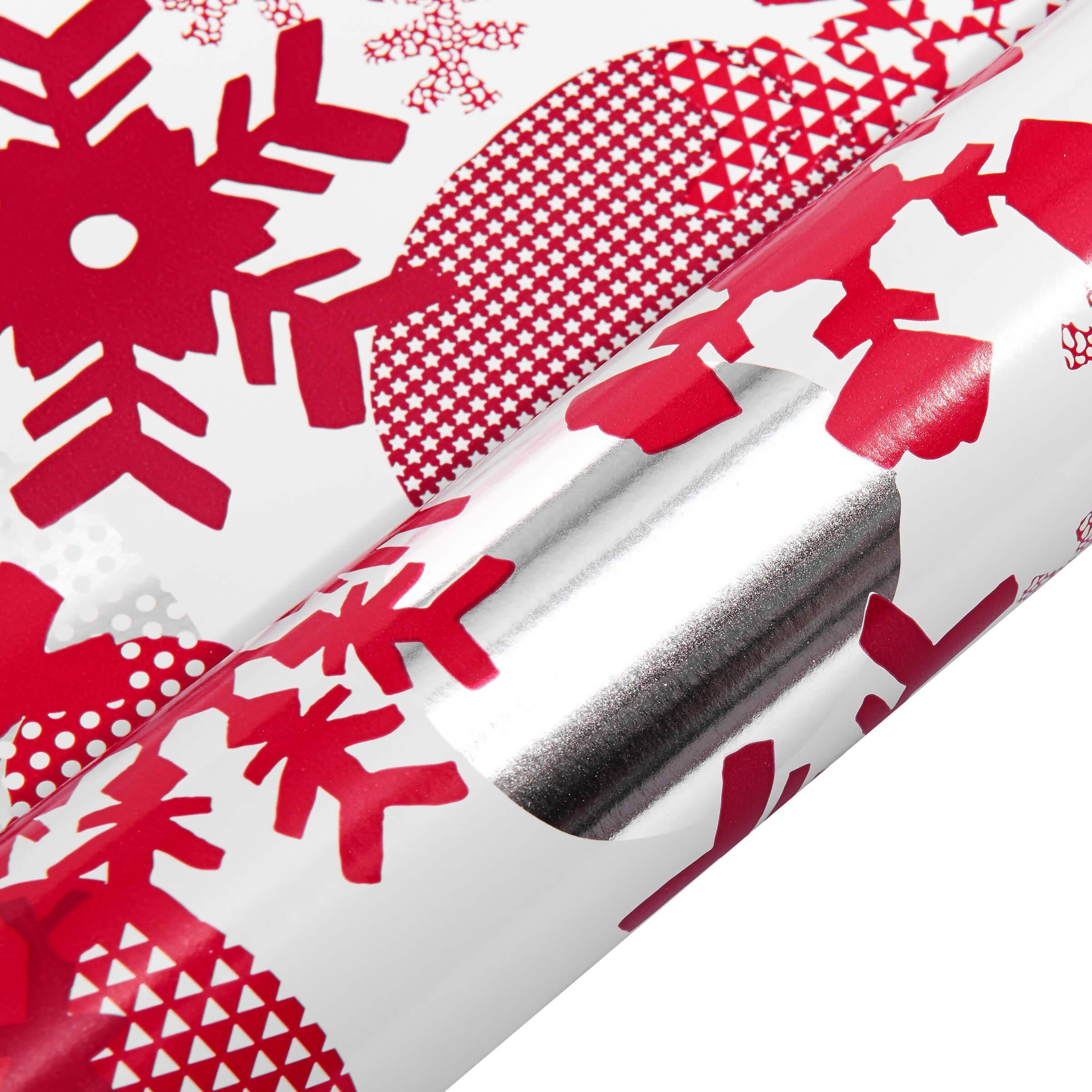 BUTLERS SURPRISE »Geschenkpapier Schneeflocken«