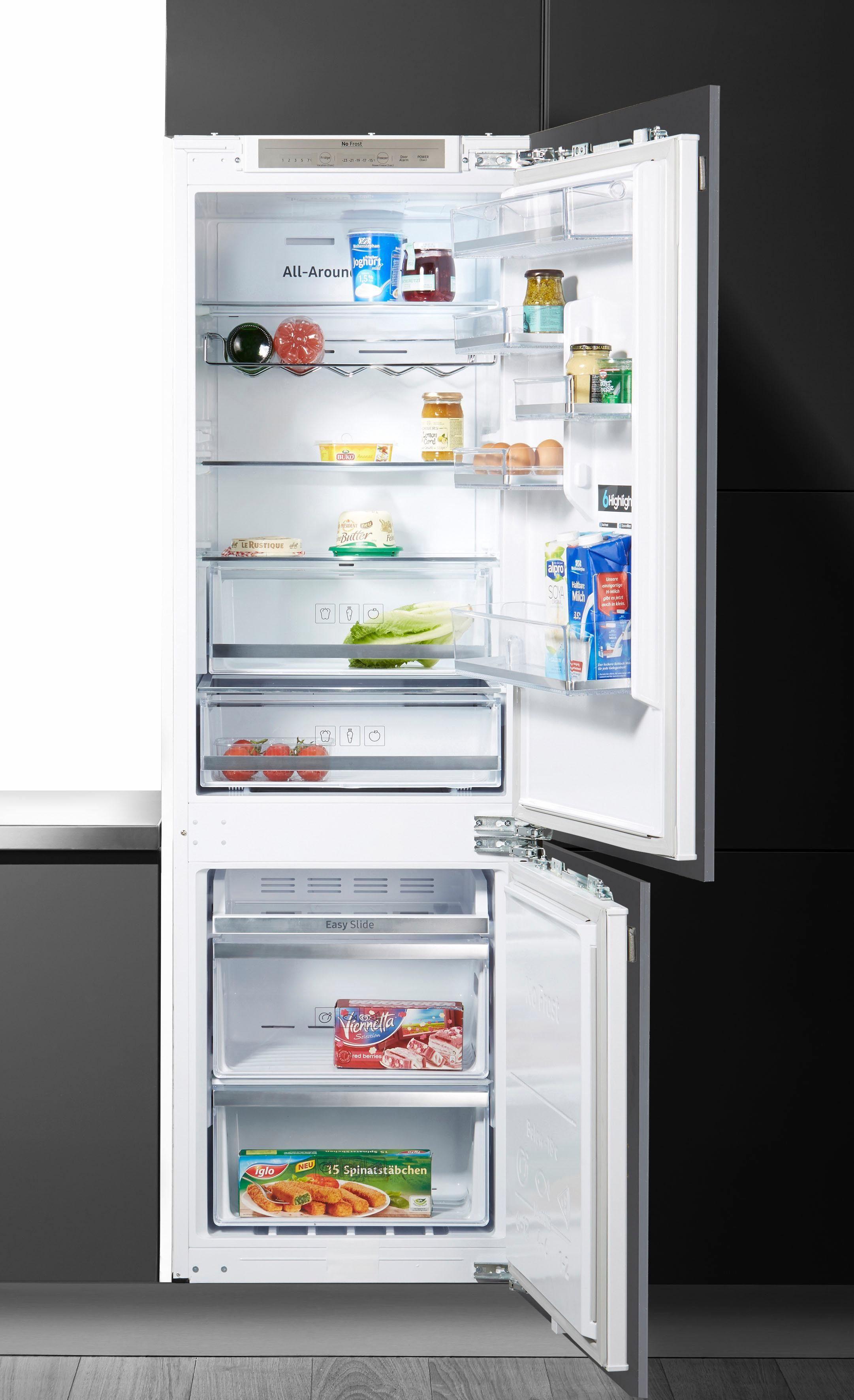 Samsung Einbaukühlgefrierkombination BRB260134WWEG, 177,5 cm hoch, 54,5 cm breit, Energieeffizienzklasse: A++
