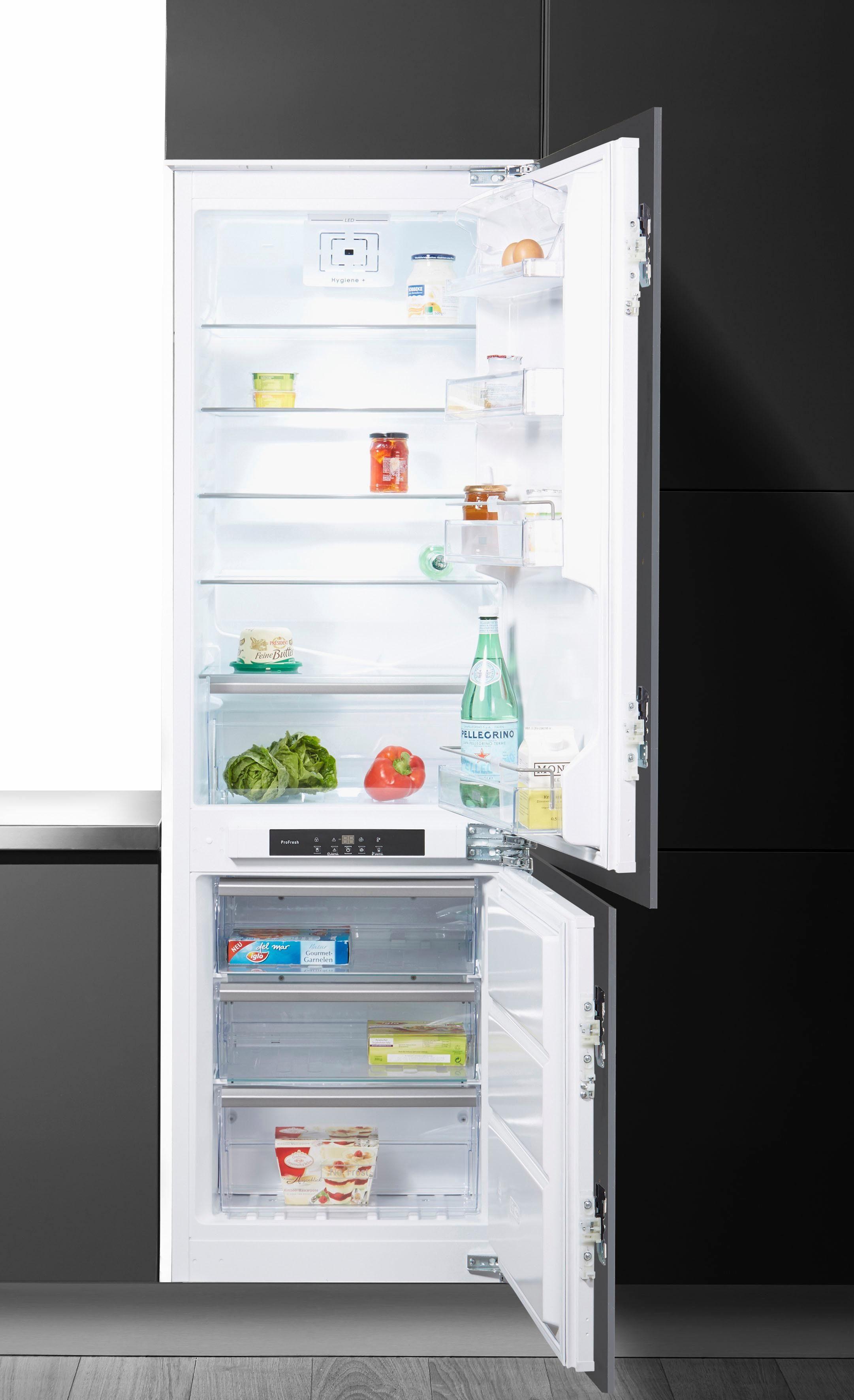 BAUKNECHT Einbaukühlgefrierkombination KGIN3183, 177 cm hoch, 54,5 cm breit, Energieeffizienzklasse: A++, 177 cm hoch