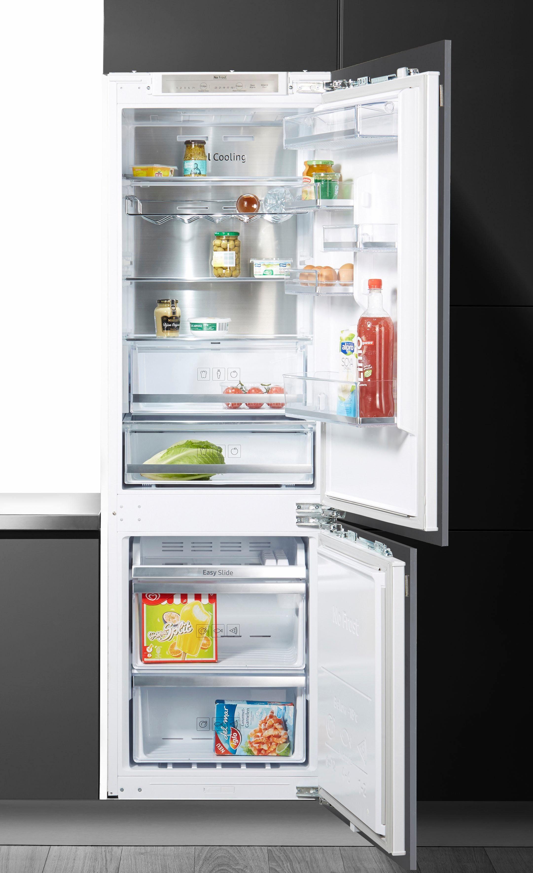 Samsung Einbaukühlgefrierkombination BRB260135WWEG, 177,5 cm hoch, 54,5 cm breit, Energieeffizienzklasse: A++