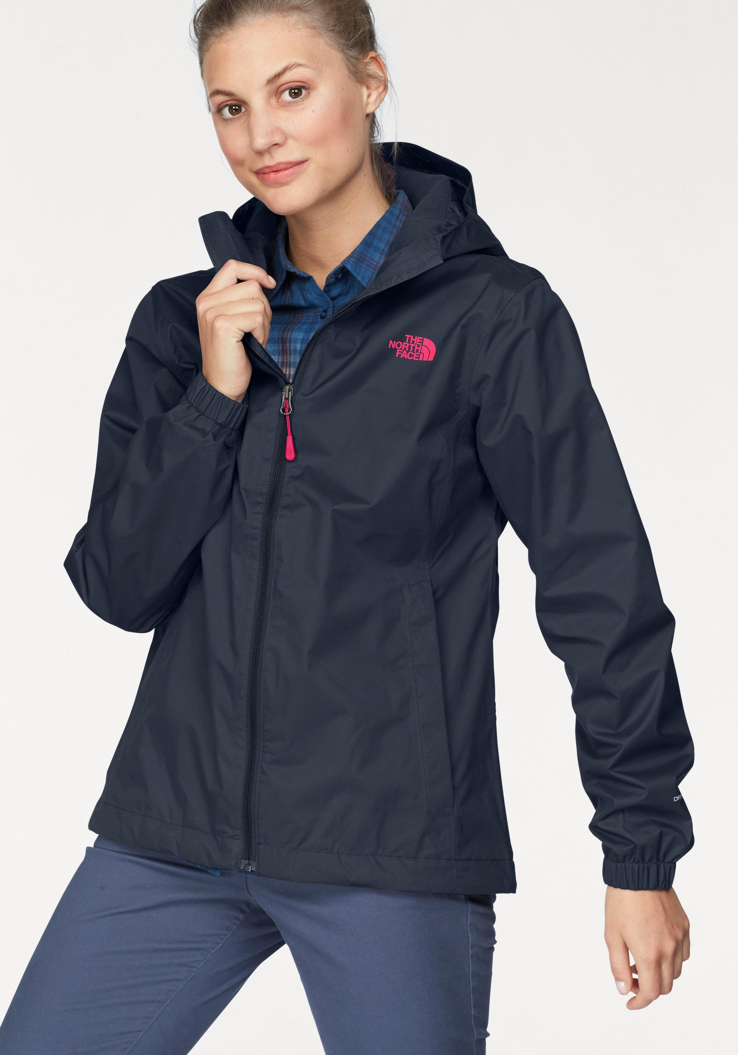 81369468a2ae49 The North Face Funktionsjacke »WOMENs QUEST«, absolut wasser- & winddicht