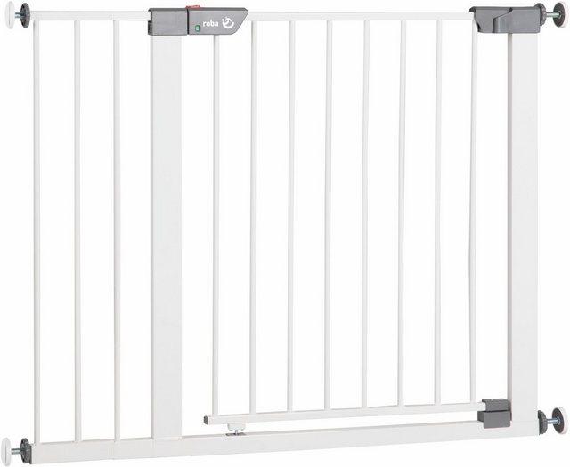 Roba Türschutzgitter »Safety Up«   Kinderzimmer > Babymöbel > Lauf- & Schutzgitter   Weiß   Roba®