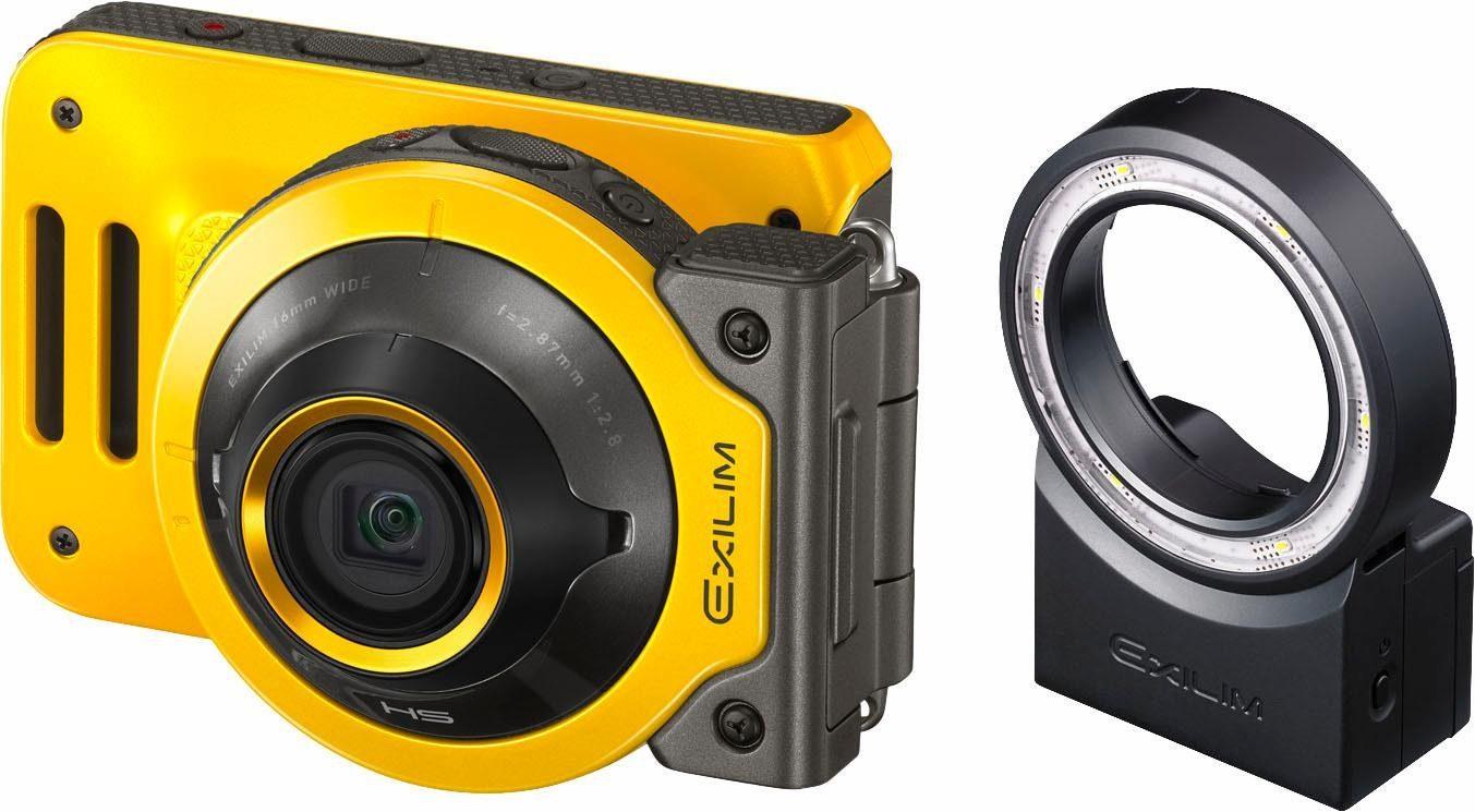 Casio EXILIM EX-FR 100 inkl. LED Ringleuchte
