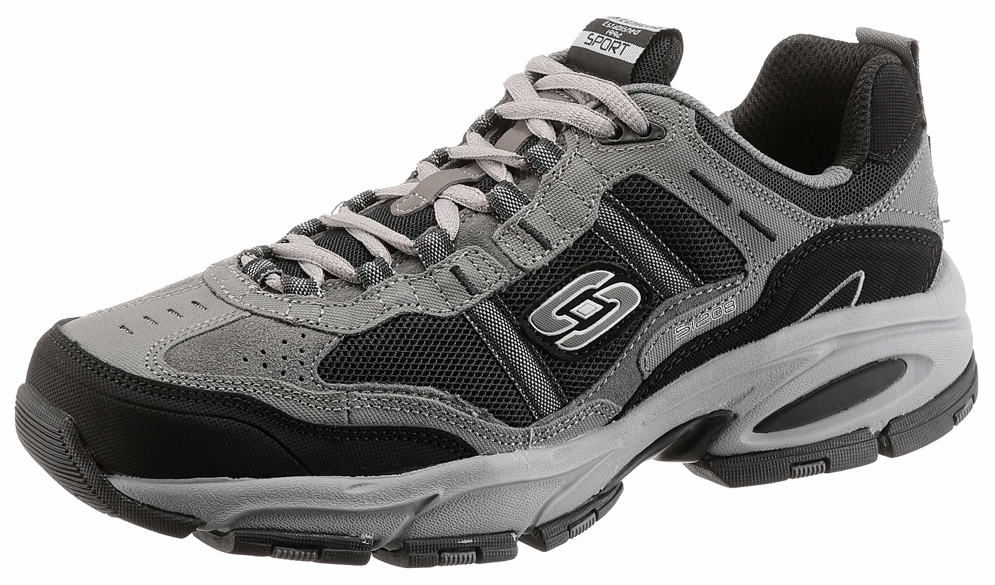 Skechers Sneaker, mit Memory Foam online kaufen  grau-schwarz