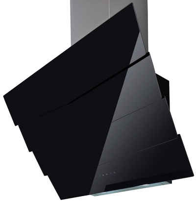 Kopffreihaube , mit Glasschirm, 594 m³/h, schwarzglas Sale Angebote Werben