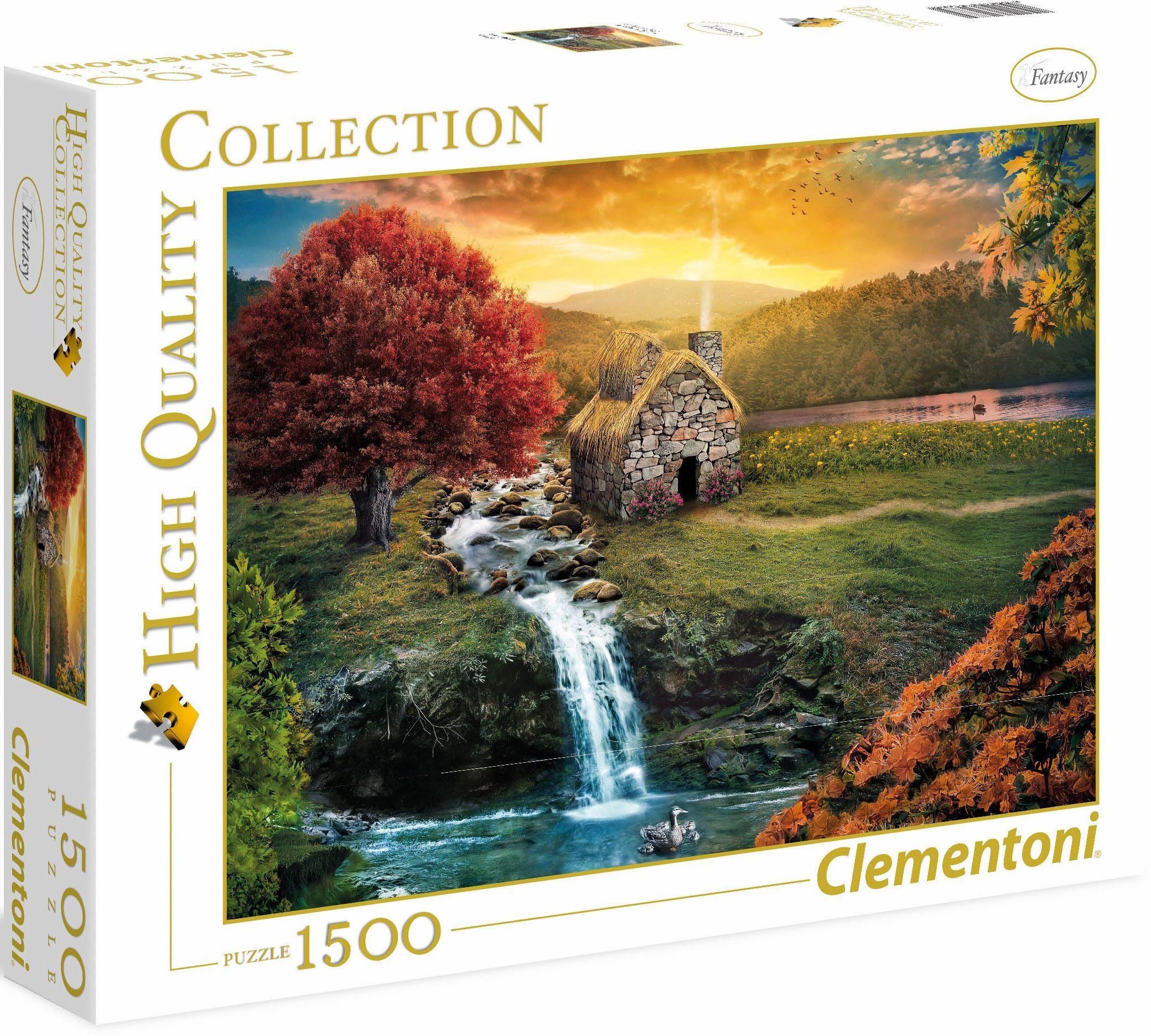 Clementoni Puzzle, 1500 Teile, »Mirage«