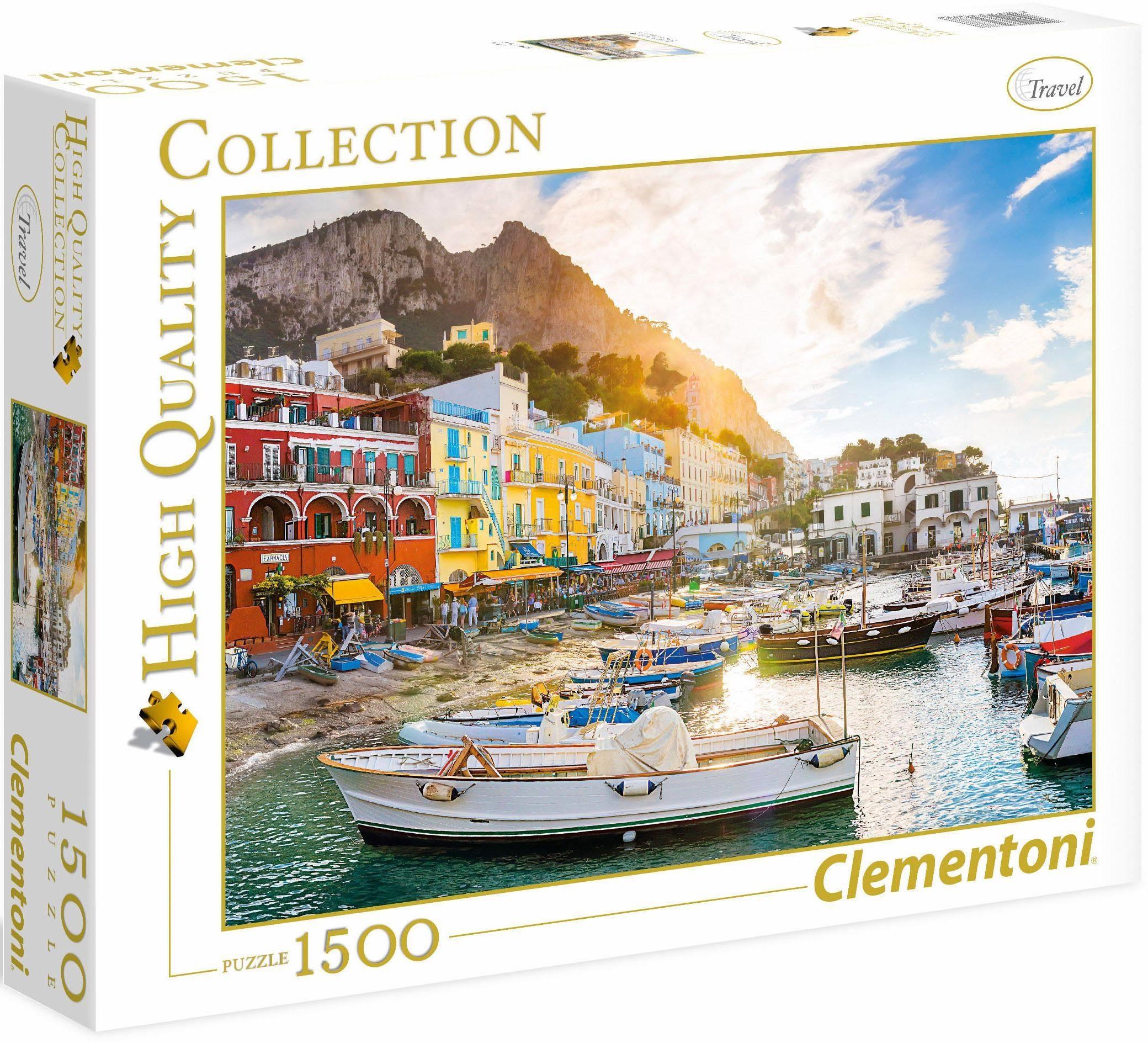 Clementoni Puzzle, 1500 Teile, »Capri«