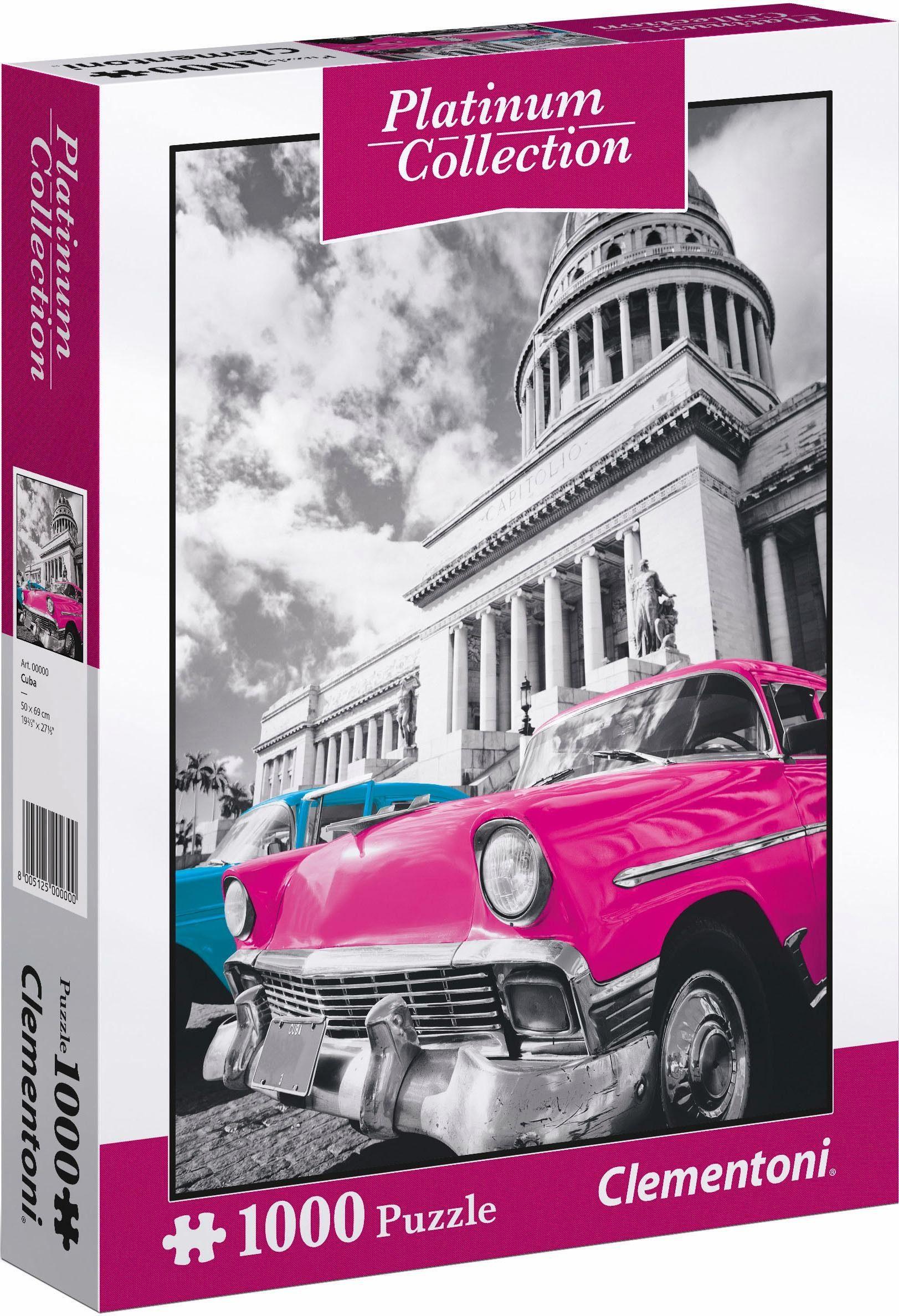 Clementoni Puzzle, 1000 Teile, »Cuba«