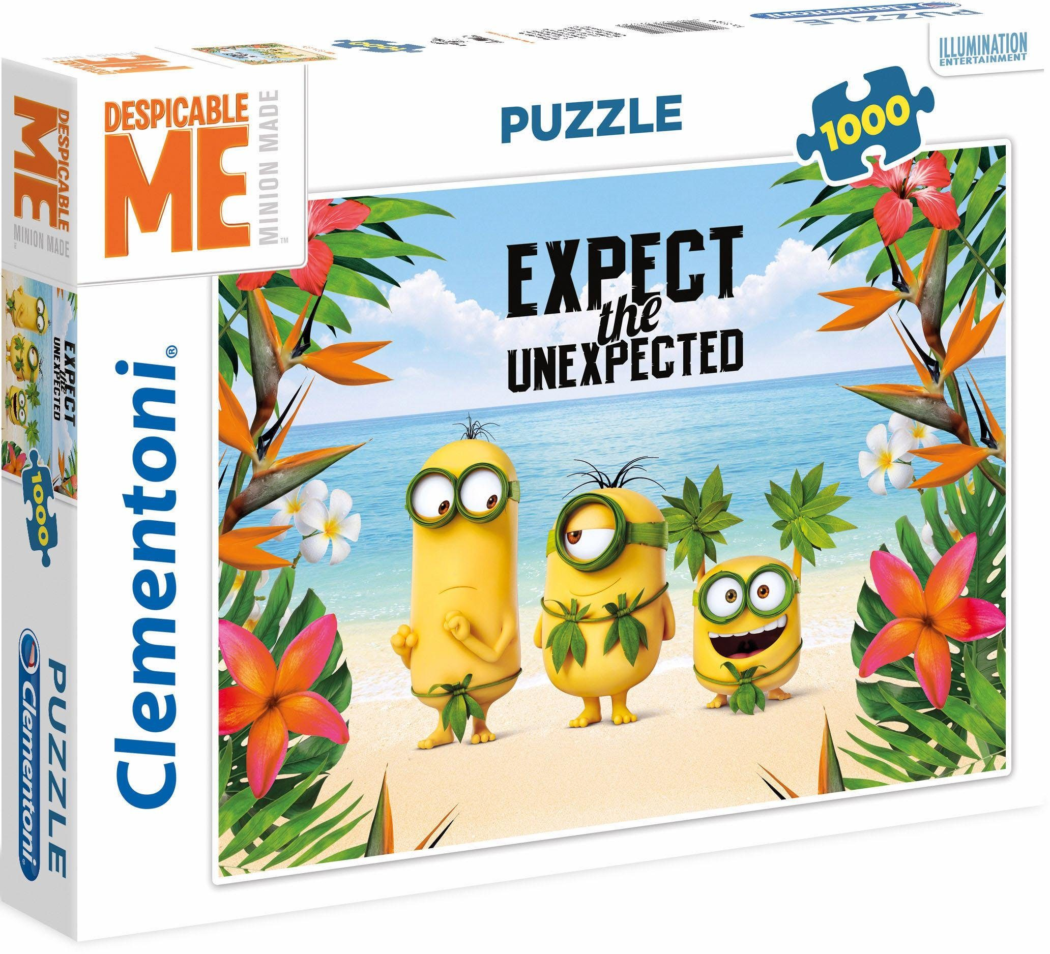 Clementoni Puzzle, 1000 Teile, »Despicable Me, Expect the unexpected«