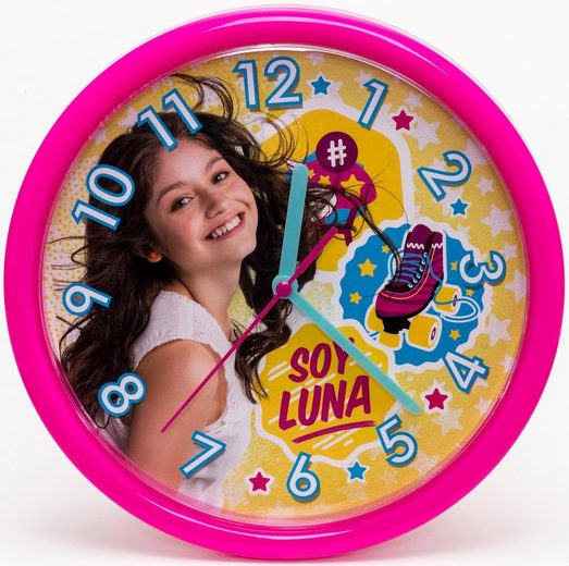 soy luna wanduhr 93711 online kaufen otto. Black Bedroom Furniture Sets. Home Design Ideas