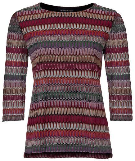 Patrizia Dini Par Heine Blusenshirt Crochet Optique