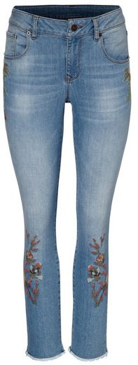 Bc Best Connections By Heine Embroidery Jeans With Open Leg Statements