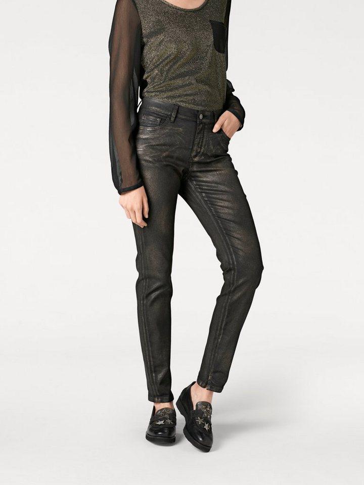 heine STYLE Push-up Jeans Aleria beschichtet