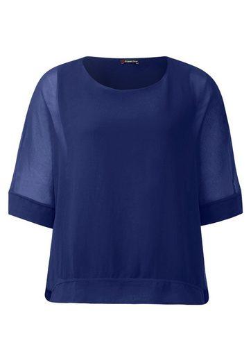 Street One Doppellagiges Shirt Stea