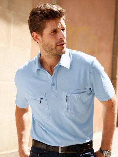Roger Kent Poloshirt mit Hemdkragen