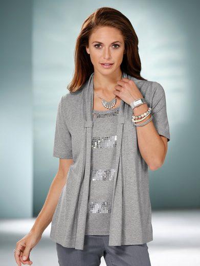Mona Shirt in 2in1-Optik