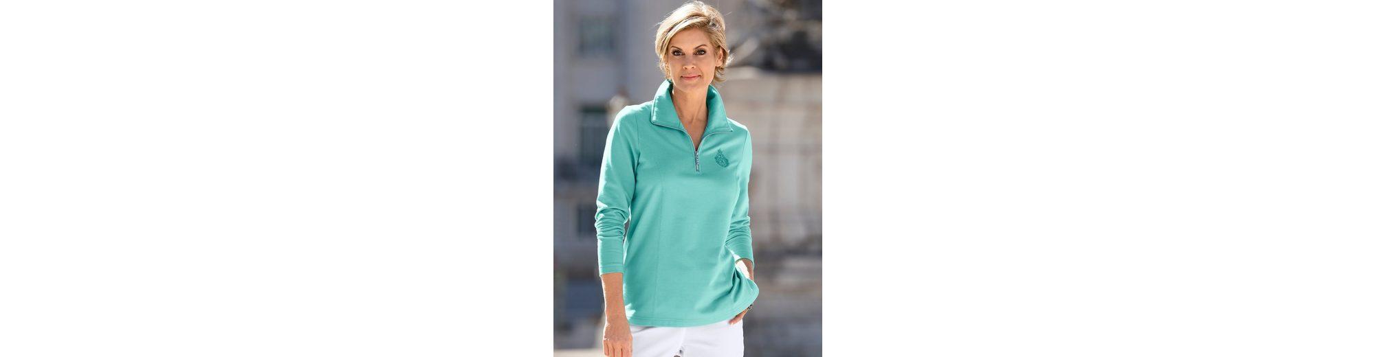 Paola Sweatshirt mit Ziernähten Günstig Kaufen Zuverlässig yuTT0UXypV