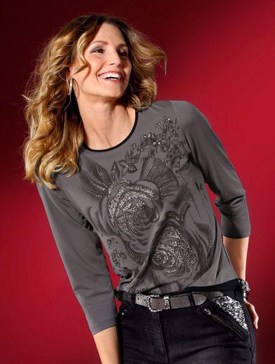 Mona Shirt With Rose Motif