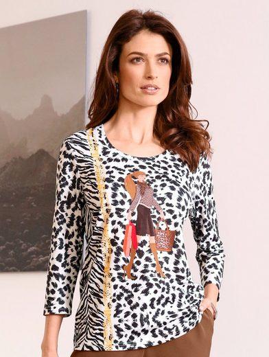 Paola Shirt mit modernem Dessin