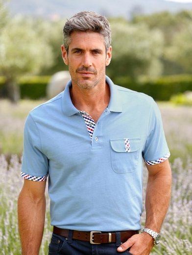 Roger Kent Poloshirt mit modischen Akzenten
