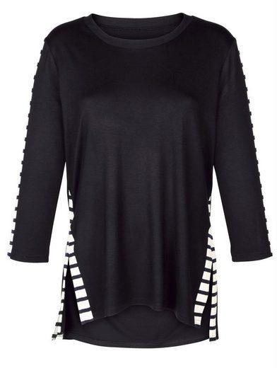 Alba Moda Shirt und Rundhalsausschnitt