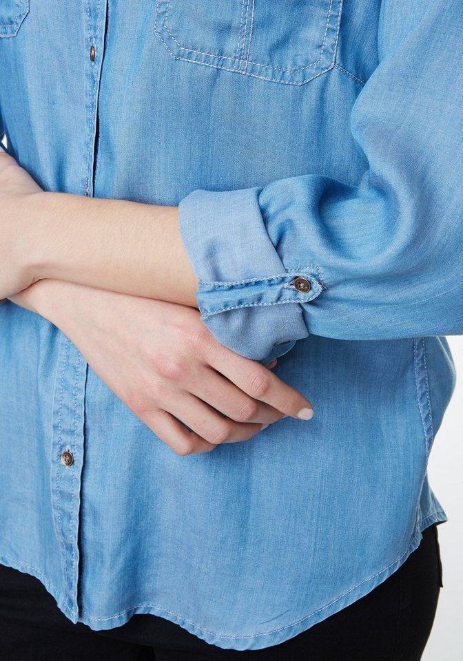 PIONEER Bluse Damen »Bluse«
