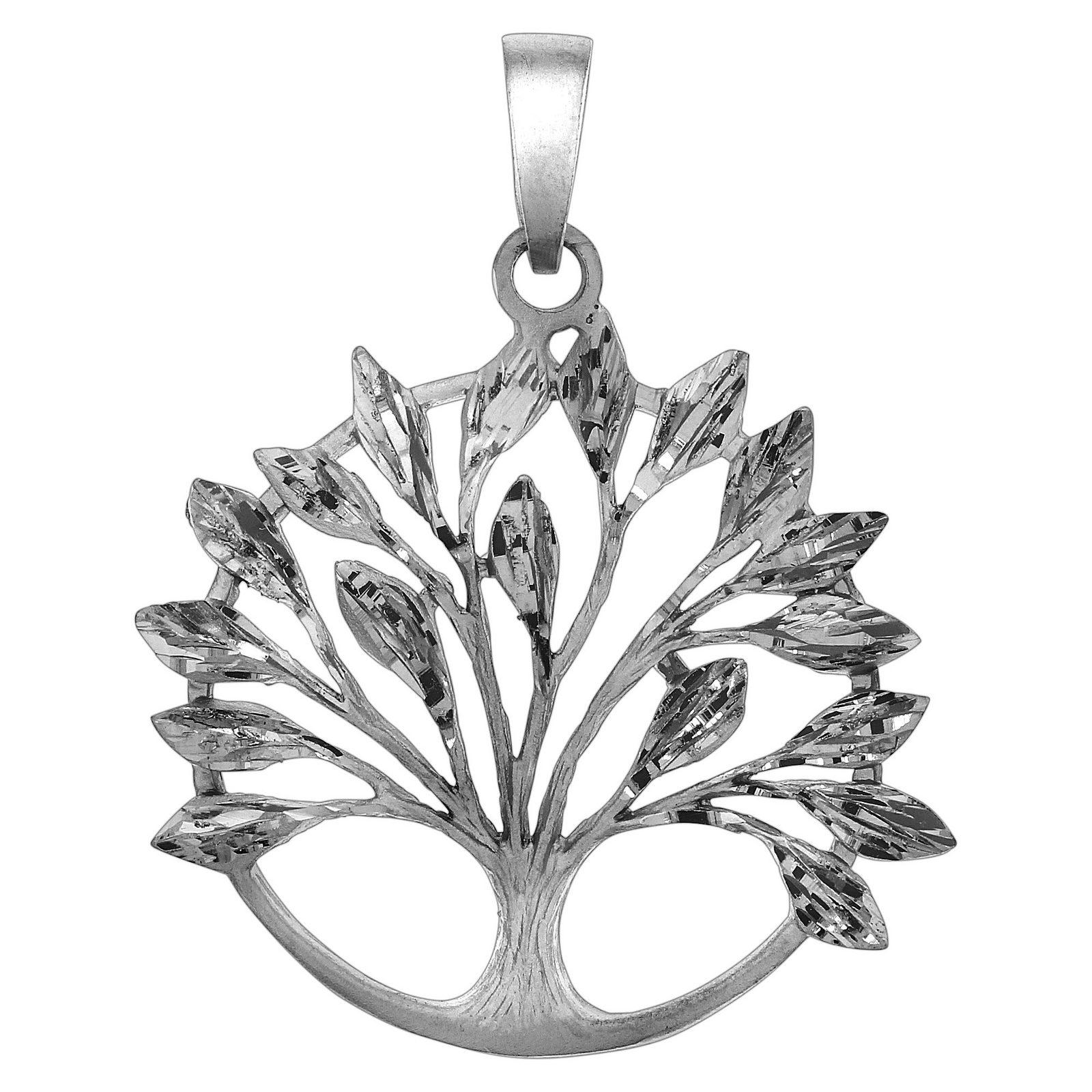 Firetti Anhänger »925/- Sterling Silber rhod. Baum«