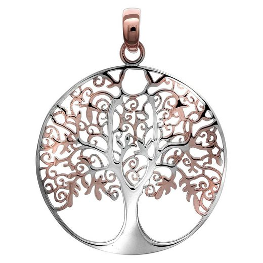 Vivance Anhänger »925/- Sterling Silber Lebensbaum«