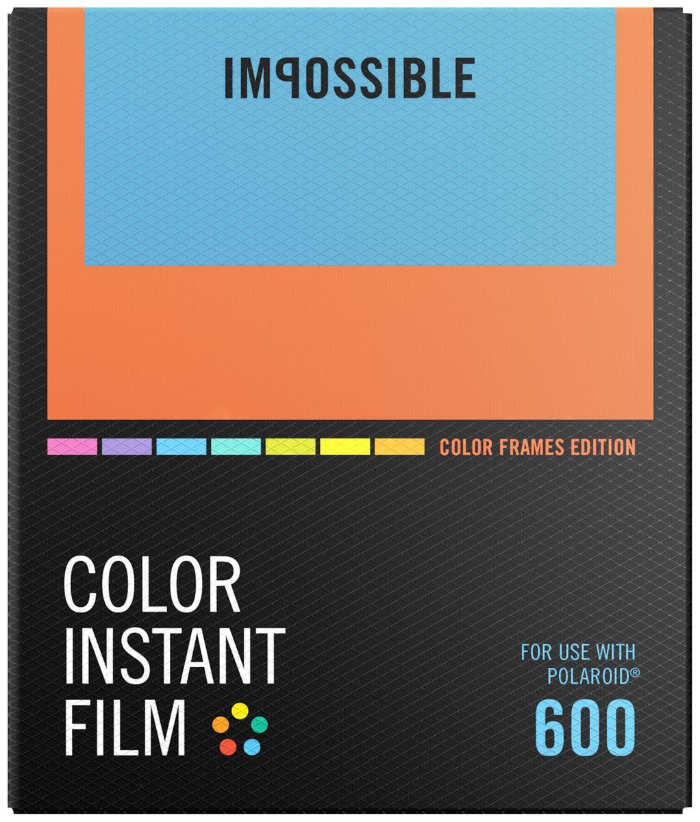 Impossible Foto Equipment »Color Film für 600 Color Frame NEU«
