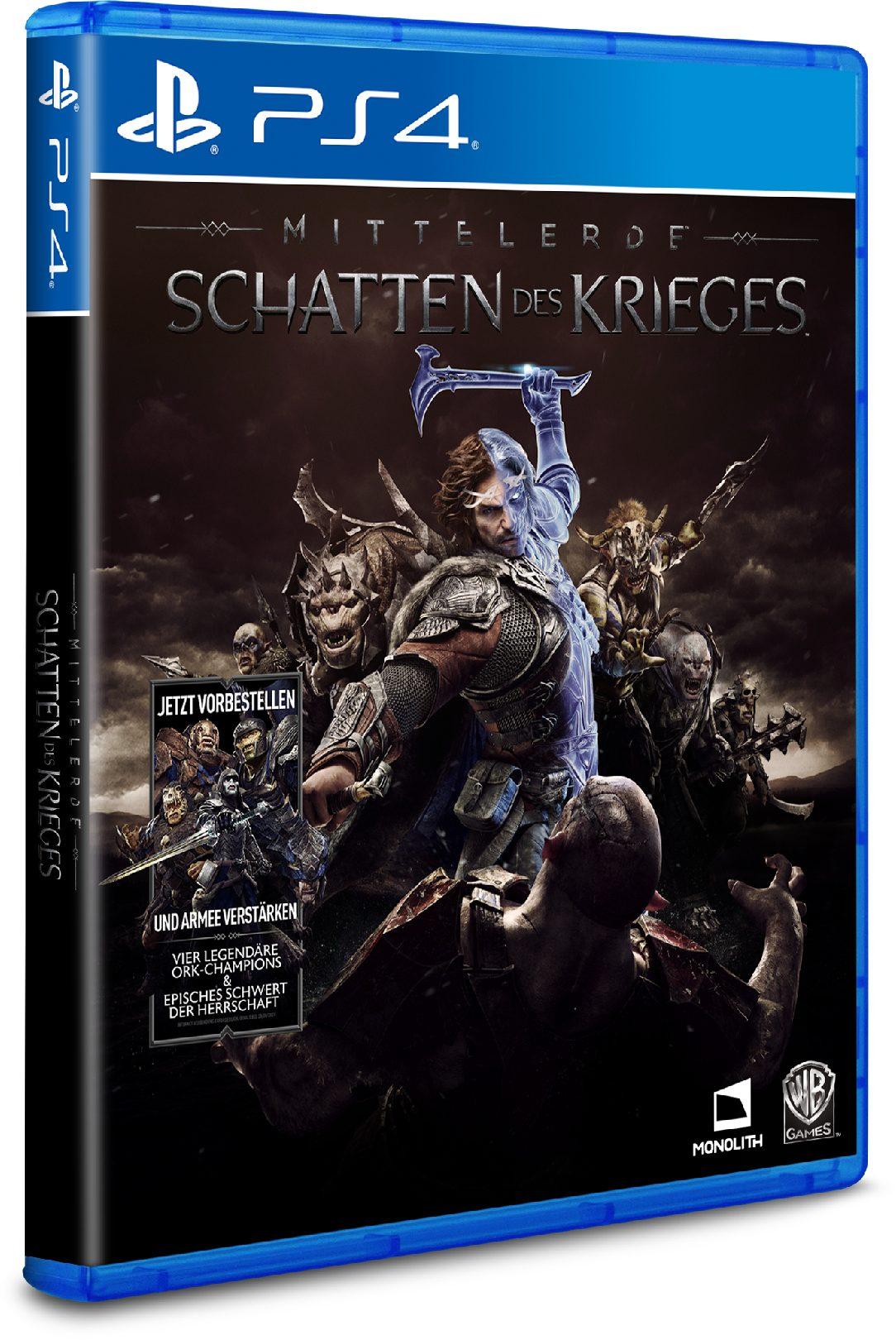 Warner Games Mittelerde: Schatten des Krieges »PS4«