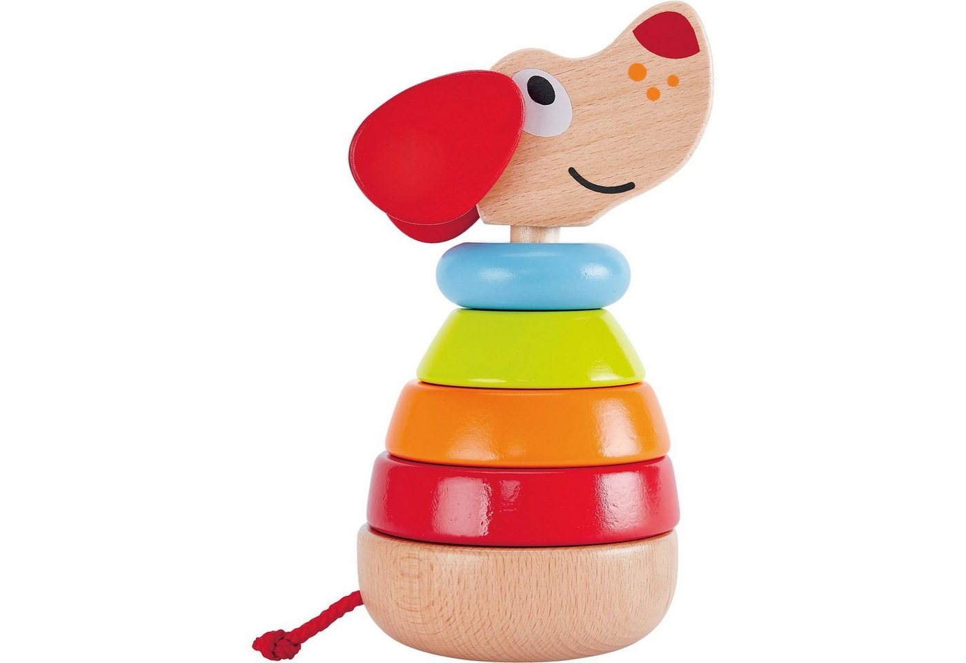 unisex Hape Stapelhund Pepe   Baby-Kleinkind
