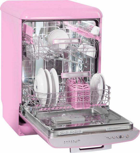 Küchengroßgeräte - Smeg Standgeschirrspüler, LVFABPK, 0,85 l, 13 Maßgedecke  - Onlineshop OTTO