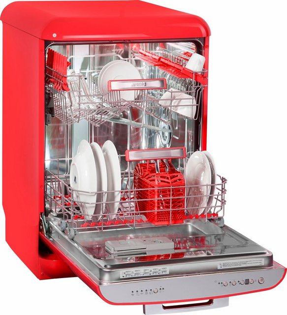 Küchengroßgeräte - Smeg Standgeschirrspüler, LVFABRD, 0,85 l, 13 Maßgedecke  - Onlineshop OTTO