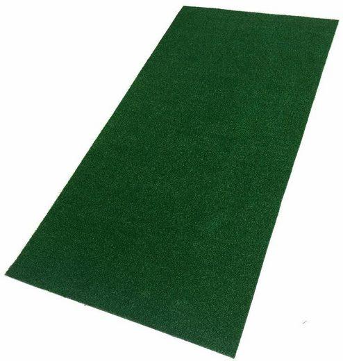 Teppich »Rasenteppich Rügen«, Living Line, rechteckig, Höhe 7 mm, Meterware, In- und Outdoor geeignet, Wohnzimmer