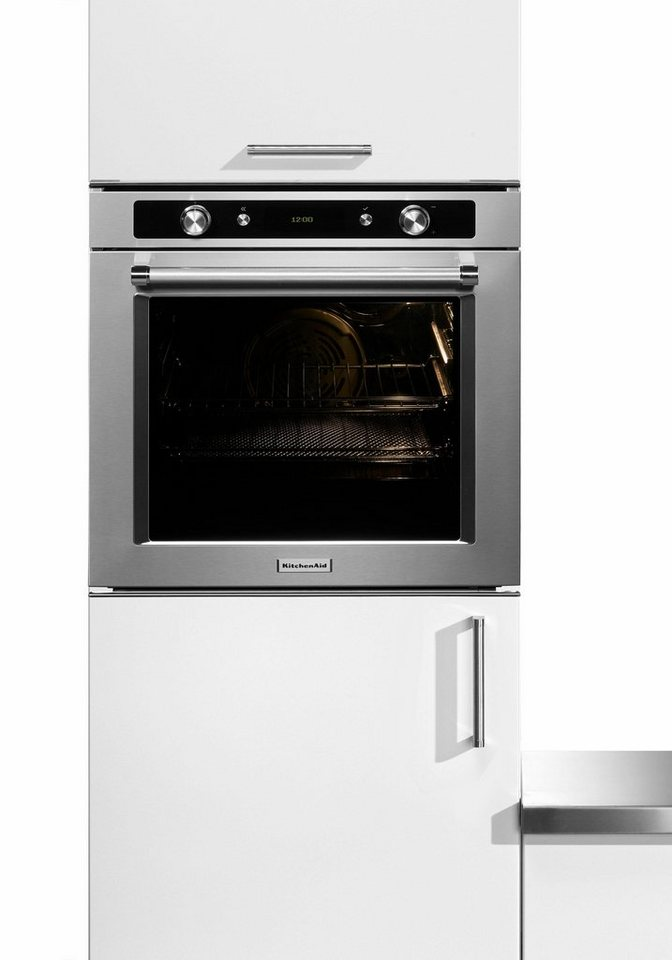kitchenaid backofen mit pyrolyse selbstreinigung kotsp 60600 a online kaufen otto. Black Bedroom Furniture Sets. Home Design Ideas