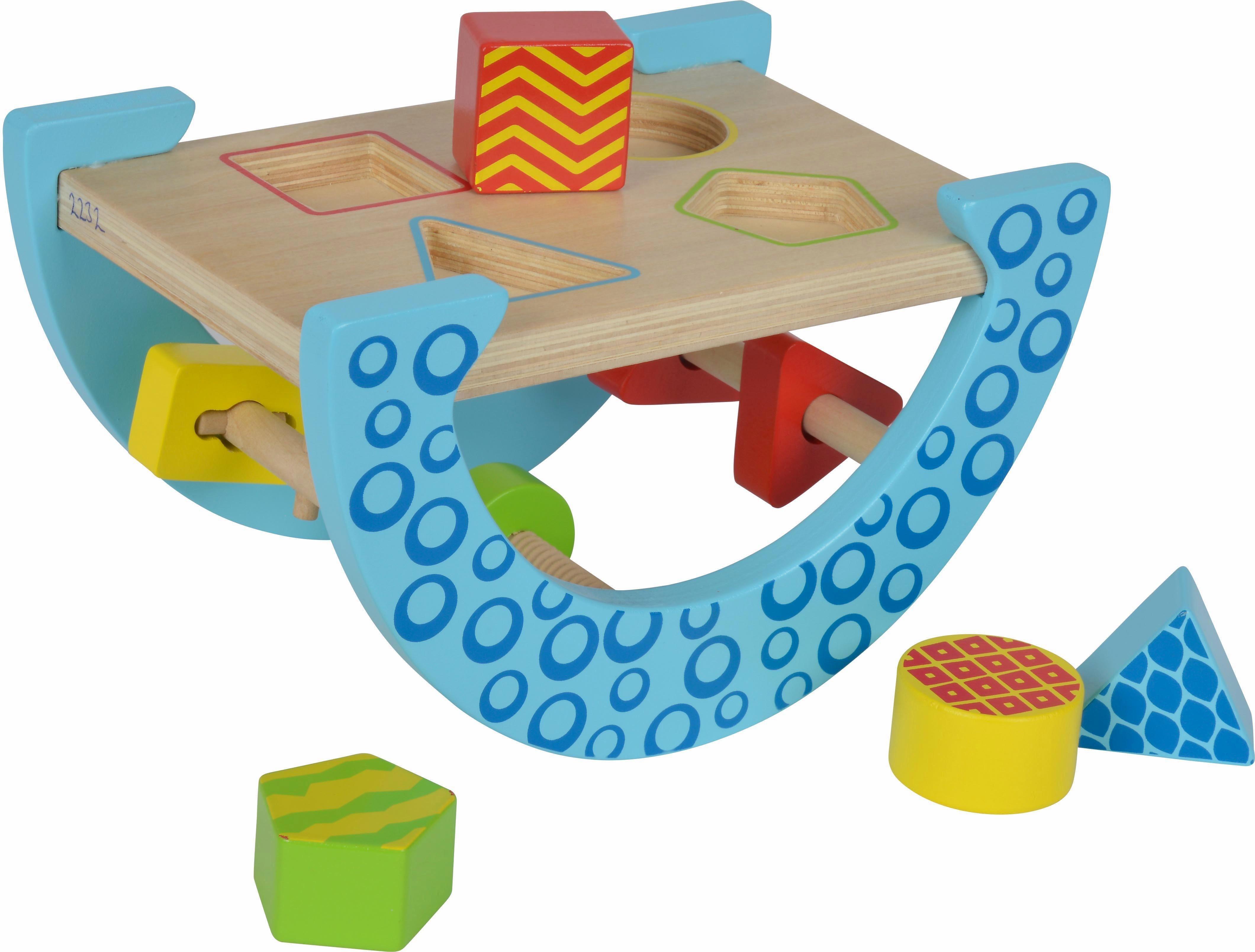 Eichhorn Sortierspiel aus Holz, »Eichhorn Color, Motorikspiel«