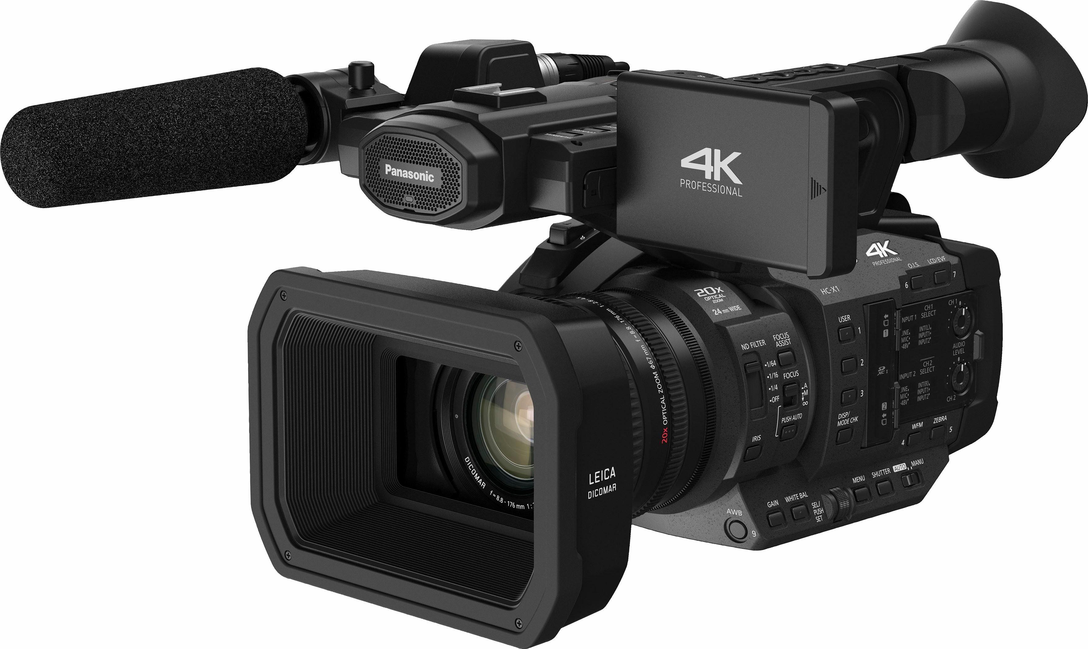Lumix Panasonic HC-X1E 4K (Ultra-HD) Camcorder