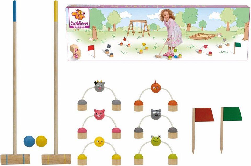 eichhorn kinderspiel eichhorn outdoor krocket otto. Black Bedroom Furniture Sets. Home Design Ideas