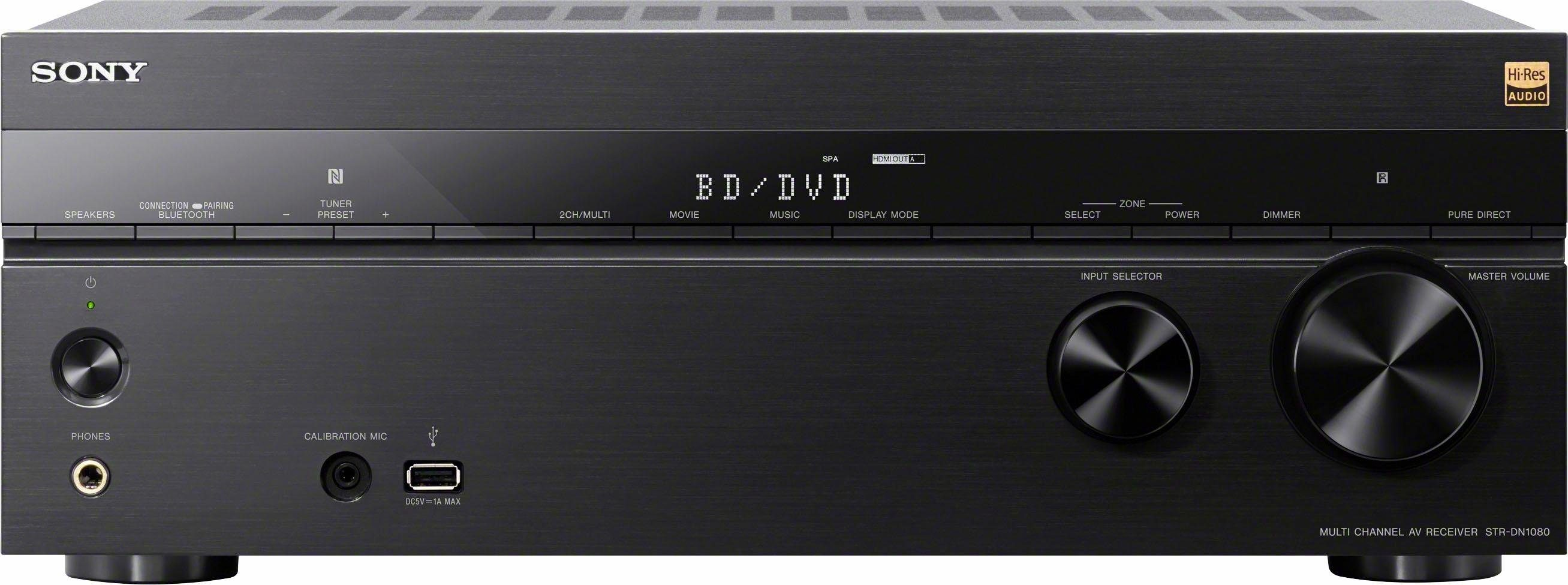 Sony STR-DN1080 7.2-Kanal AV-Receiver (Hi-Res, 3D, Spotify Connect, Airplay, WLAN, Bluetooth, NFC)