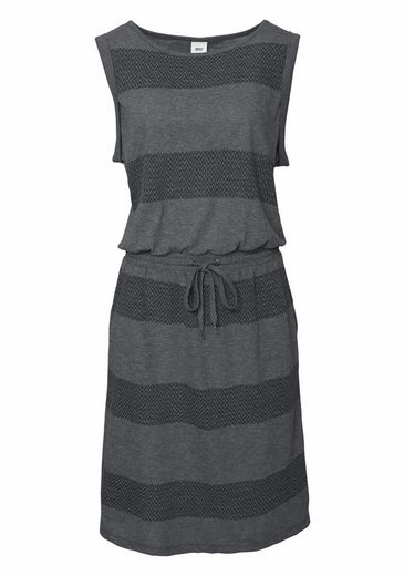 Object Jerseykleid Karolina, im tollen Jacquard-Ringel-Look