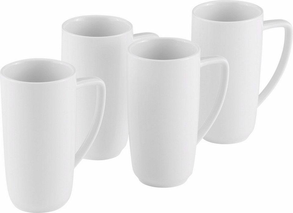 alexander herrmann latte macchiato obertassen set classic linie 4 tlg porzellan made in. Black Bedroom Furniture Sets. Home Design Ideas