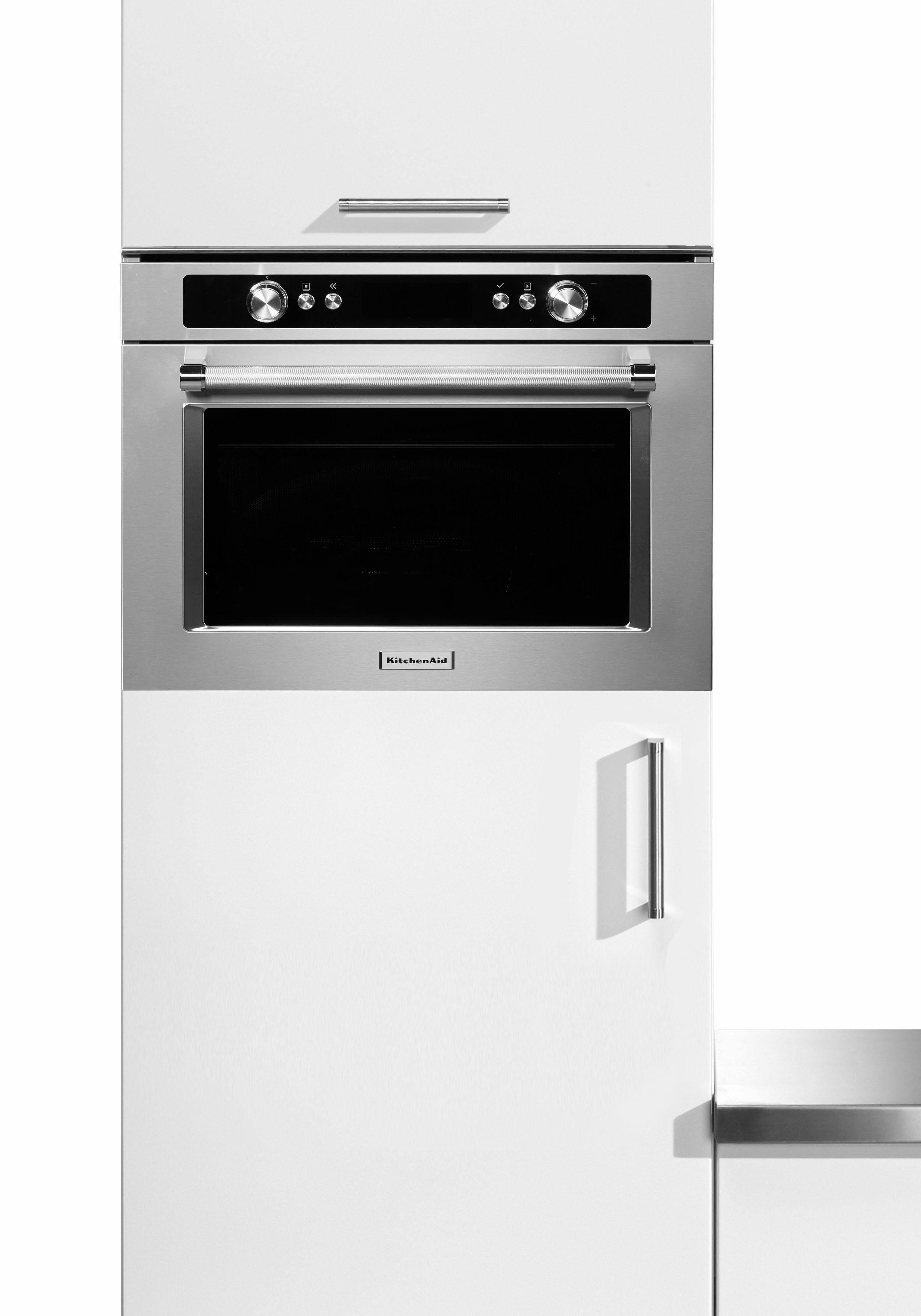 KitchenAid Einbaumikrowelle KMQCX 45600, mit Backofenfunktion, 40 Liter, 900 Watt