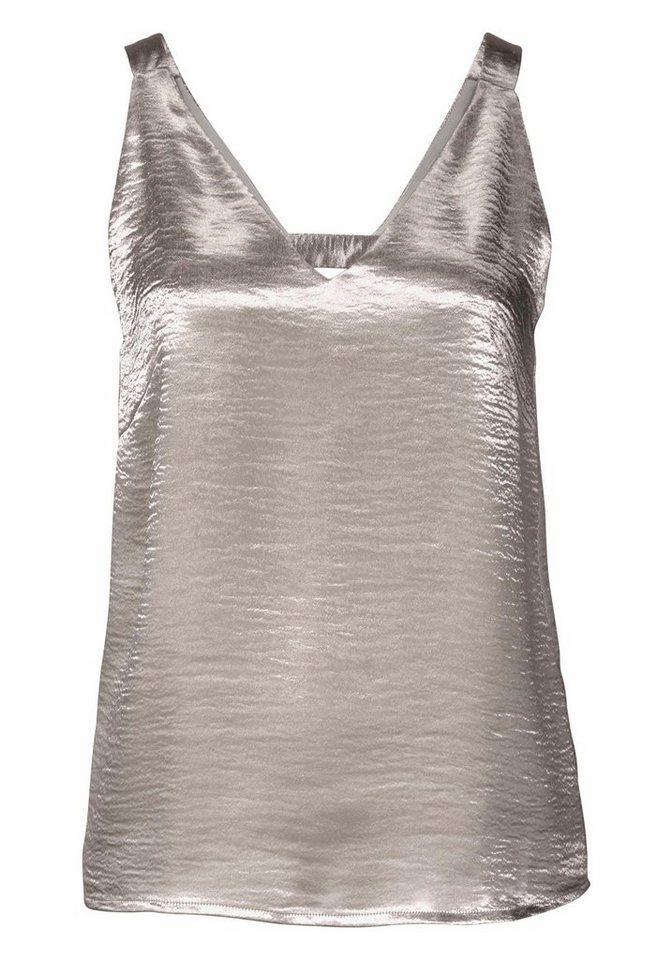 Object Trägertop »Ayni«, in glänzendem Satin