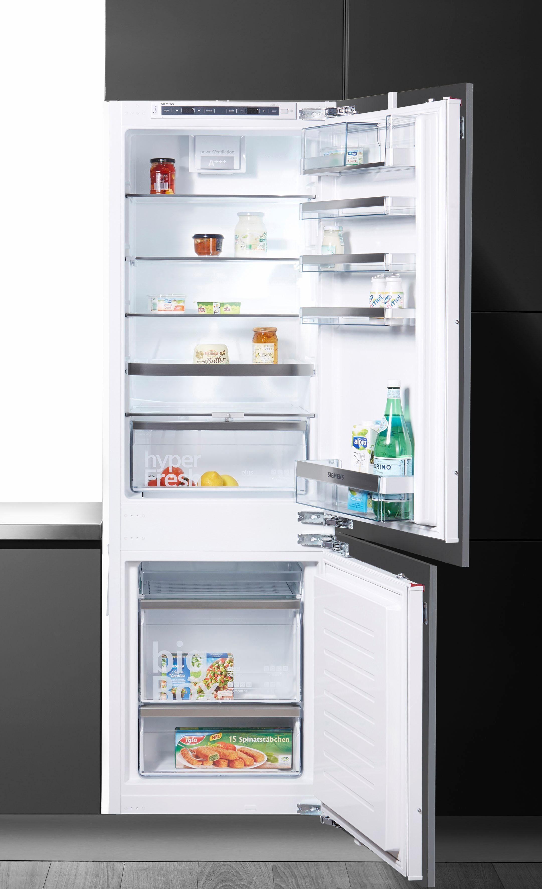SIEMENS Einbaukühlgefrierkombination KI86SAD40, 177,2 cm hoch, 54,5 cm breit, Energieeffizienzklasse: A+++, 177,2 cm hoch, LowFrost