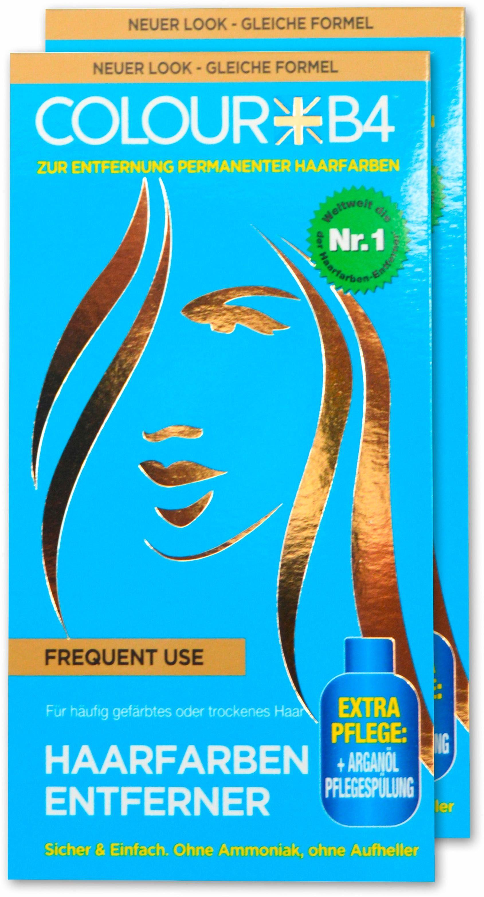 Colour B4, »Colour B4 Frequent Use«, Haarfarben-Entferner für häufig gefärbtes oder trockenes Haar