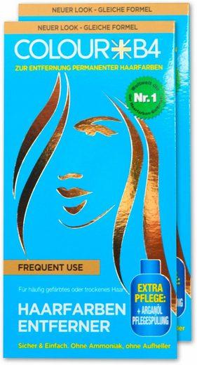 Colour B4 Haarfarben-Entferner »Colour B4 Frequent Use«, 2-tlg., für häufig gefärbtes oder trockenes Haar