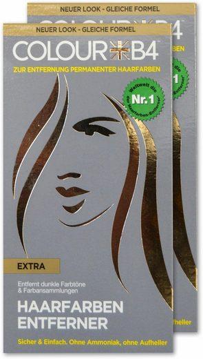 Colour B4 Haarfarben-Entferner »Colour B4 Extra«, Set, 2-tlg., zum Entfernen dunkler Farbtöne