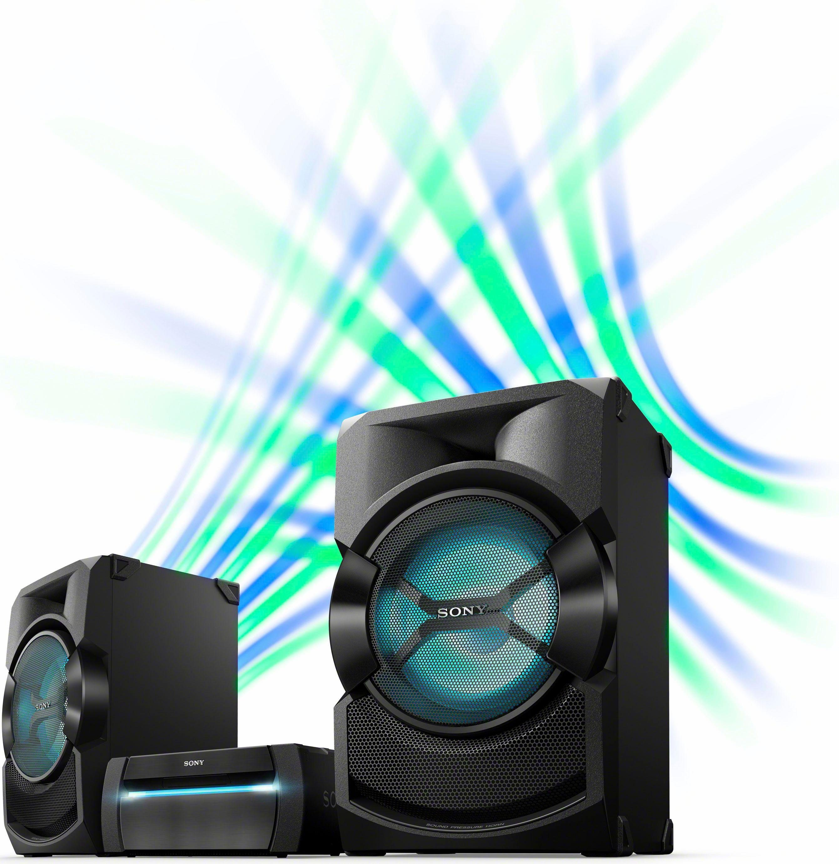 Sony SHAKE-X30D Stereoanlage, Bluetooth, NFC, RDS, 1x USB