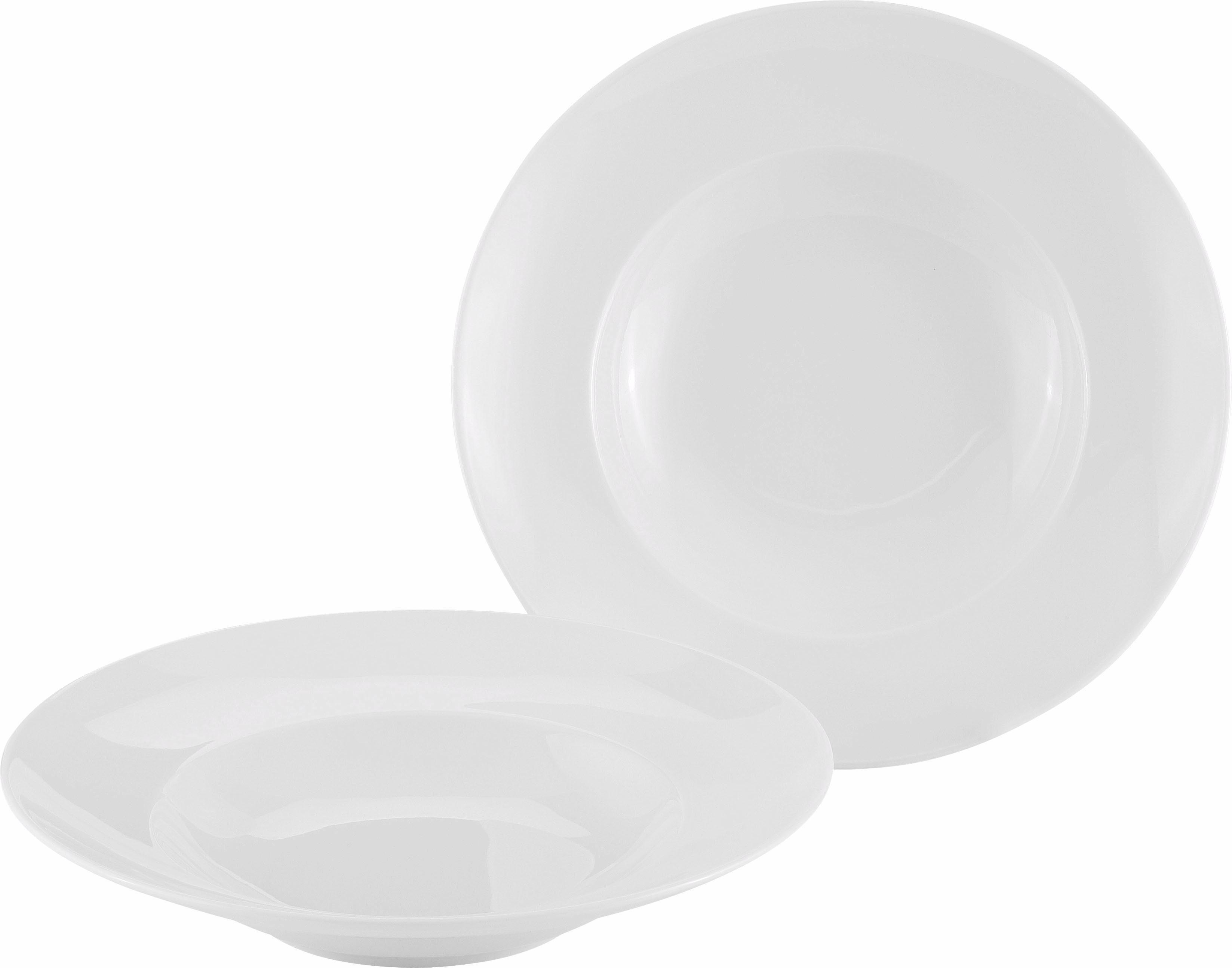 Alexander Herrmann Gourmetteller »CLASSIC Linie«, 2-teilig, tief, Porzellan, Made in Germany